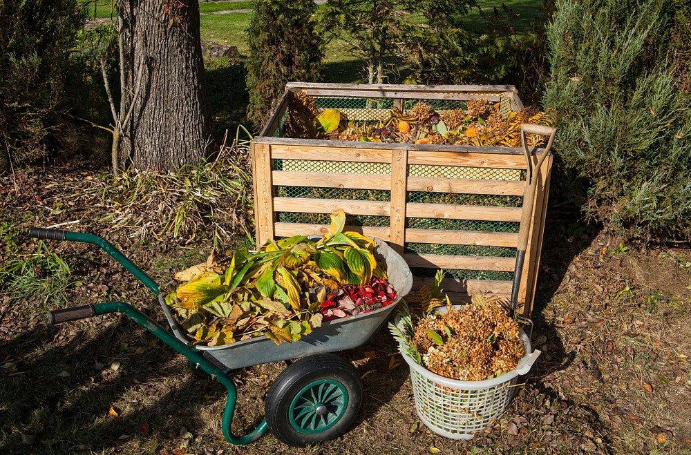 Zahradní kompost