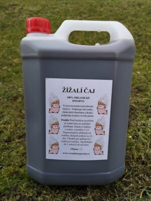Žížalí čaj - 5 litrů